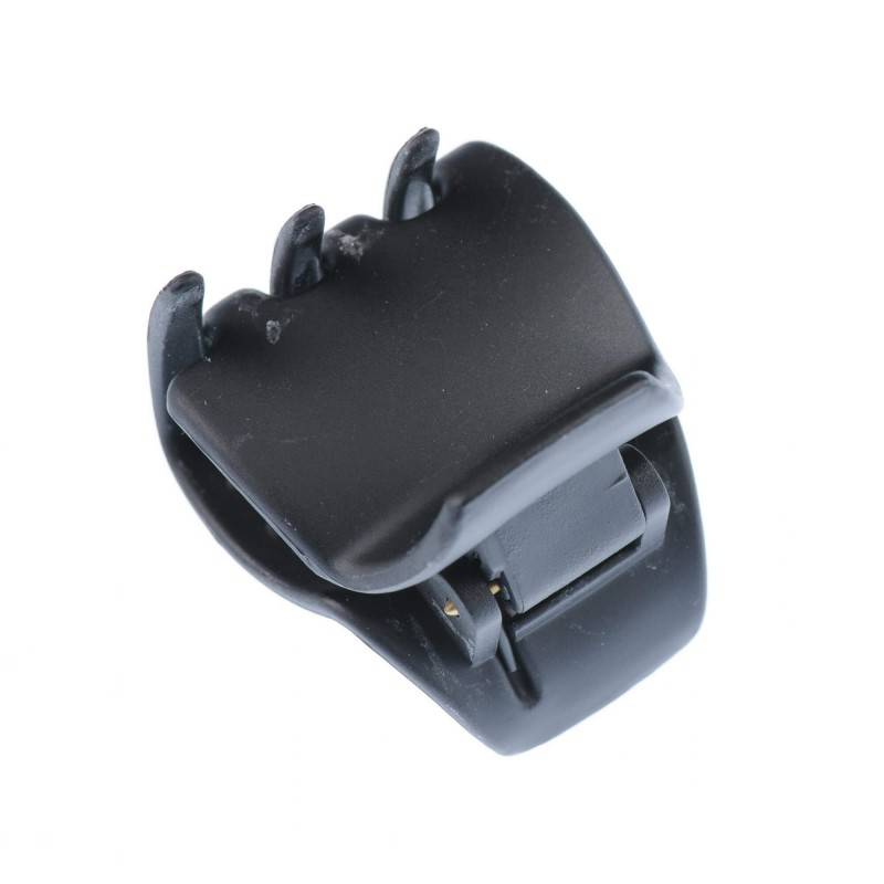 Small size regular shape Hair jaw clip in Black matte finish
