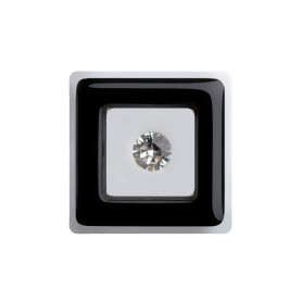 "Healthy fashion earring (1 pcs.) ""Black Prospect"""
