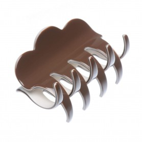 "French Made Clawclip ""Trapped in chocolate"""