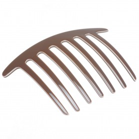 Large size regular shape Hair side comb in Multicolor