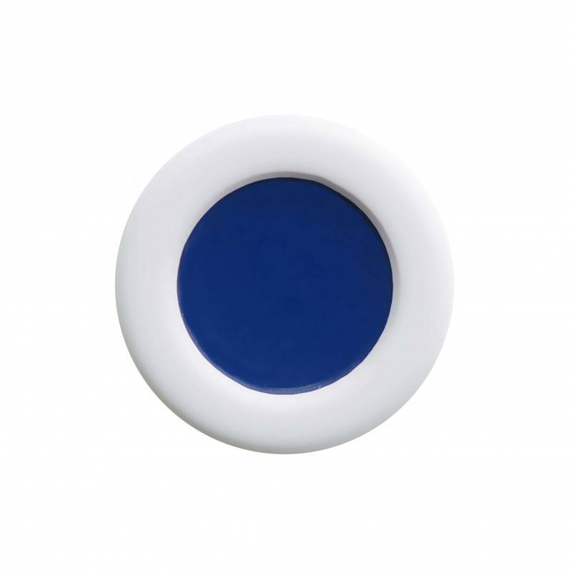 "Healthy fashion earring (1 pcs.) ""Blue Hole"""