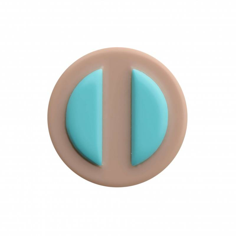 "Healthy fashion earring (1 pcs.) ""Turquoise Dream"""