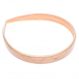 Medium size regular shape Headband in Pink