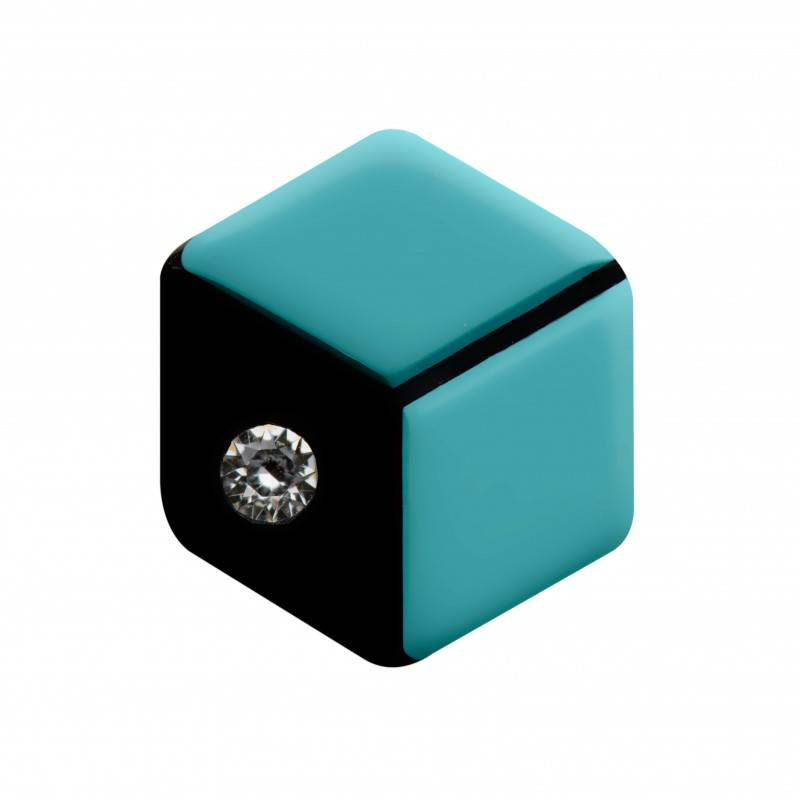Turquoise Cube