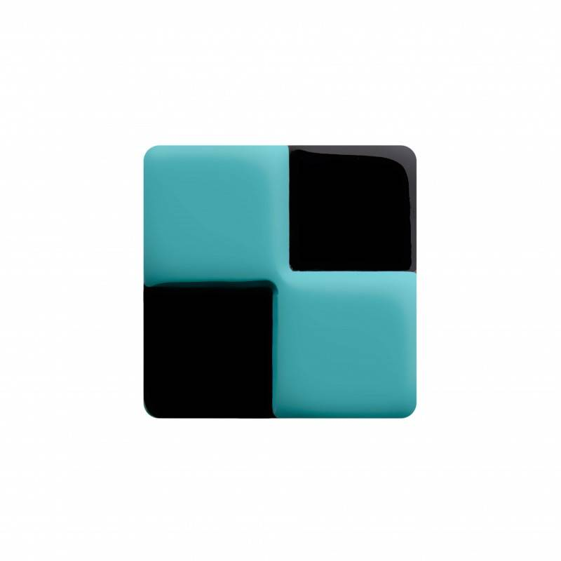 "Healthy fashion earring (1 pcs.) ""Boxy Turquoise"""
