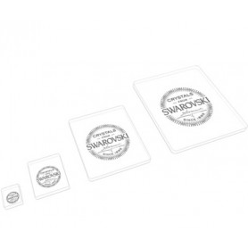 square shape Marketing material in Crystal