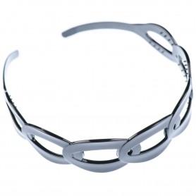 Medium size special ornament Headband in Black