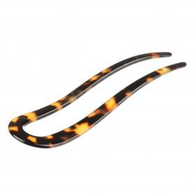 Medium size fork shape Hair stick in Tokyo dark
