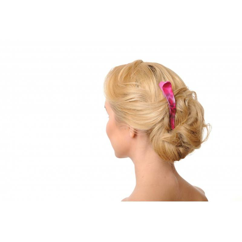 pink hair accessories