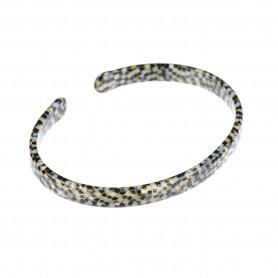 Medium size oval shape Bracelet in Opera