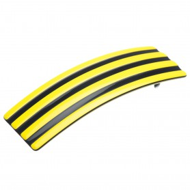 """Lithuanian made hairclip """"Yellow stripes"""""""