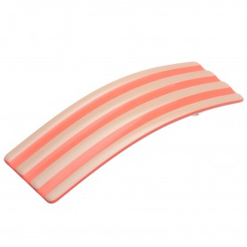 "Lithuanian made hairclip ""Coral stripes"""
