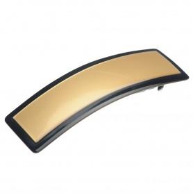 "Lithuanian made hairclip ""Golden contour"""