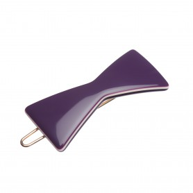 """Lithuanian Made Hairclip """"Time of a Violet"""""""