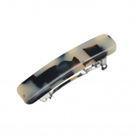 Small size rectangular shape Hair clip in Tokyo blond