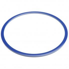 Large size round shape Bracelet in Blue and white