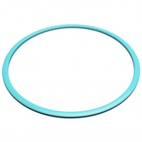 Large size round shape Bracelet in Turquoise and black