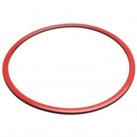 Large size round shape Bracelet in Marlboro red and black