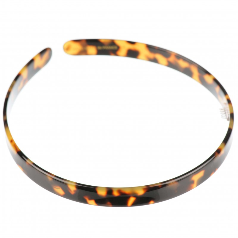 Medium size regular shape Headband in Tokyo dark shiny finish