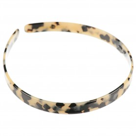 Medium size regular shape Headband in Tokyo blond