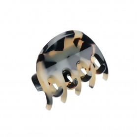 Very small size regular shape Hair claw clip in Tokyo blond