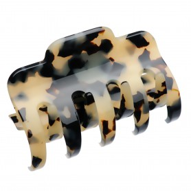 Large size regular shape Hair jaw clip in Tokyo blond