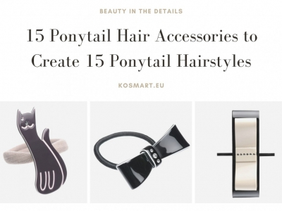 15 Ponytail Hair Accessories to Create 15 Ponytail Hairstyles