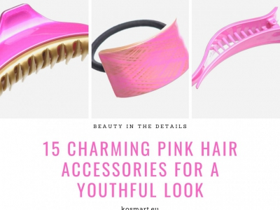 15 Charming Pink Hair Accessories for A Youthful Look