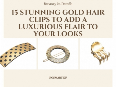 15 Stunning Gold Hair Clips to Add A Luxurious Flair to Your Looks