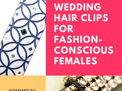 15 Wedding Hair Clips for Fashion-Conscious Females