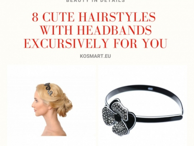 8 Cute Hairstyles with Headbands Excursively For You
